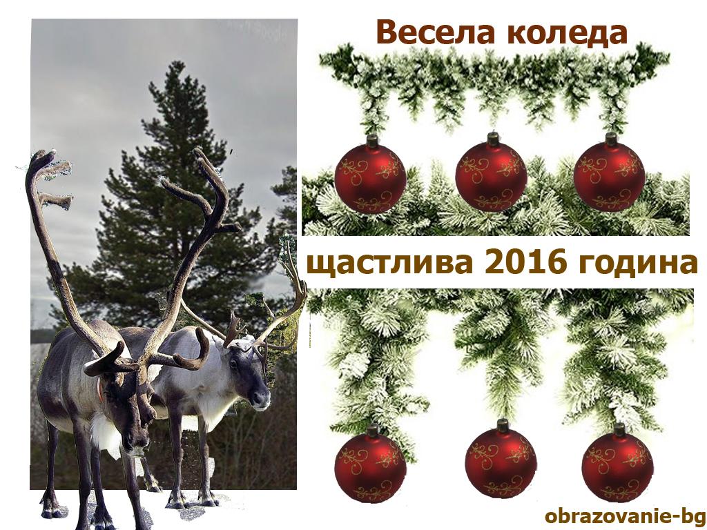 Весела Коледа и Щастлива новата 2016 г! - 563.21 kb